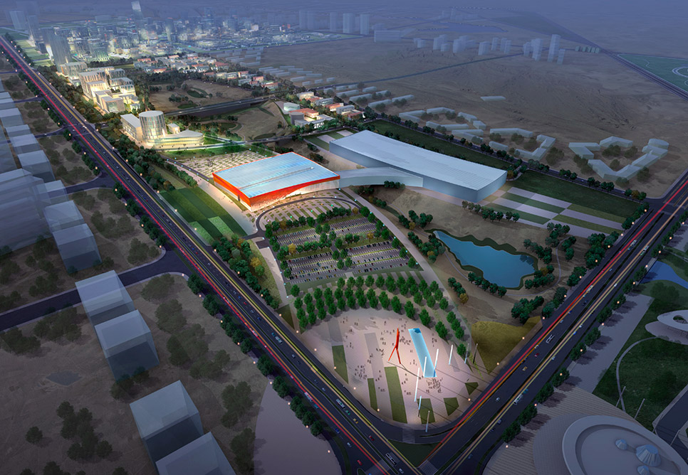 Karamay China  city photos : karamay expo district master plan the karamay expo district primarily ...