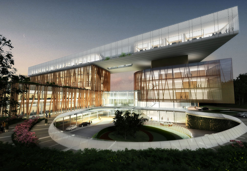 Samsung International Hospital Nbbj