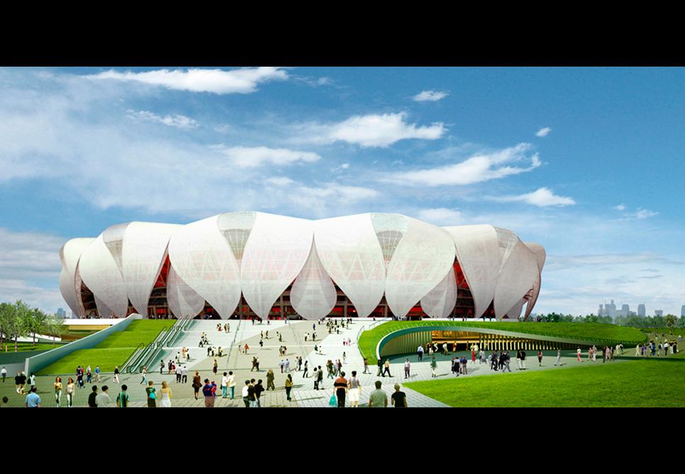 Hangzhou Olympic Sports Center Nbbj