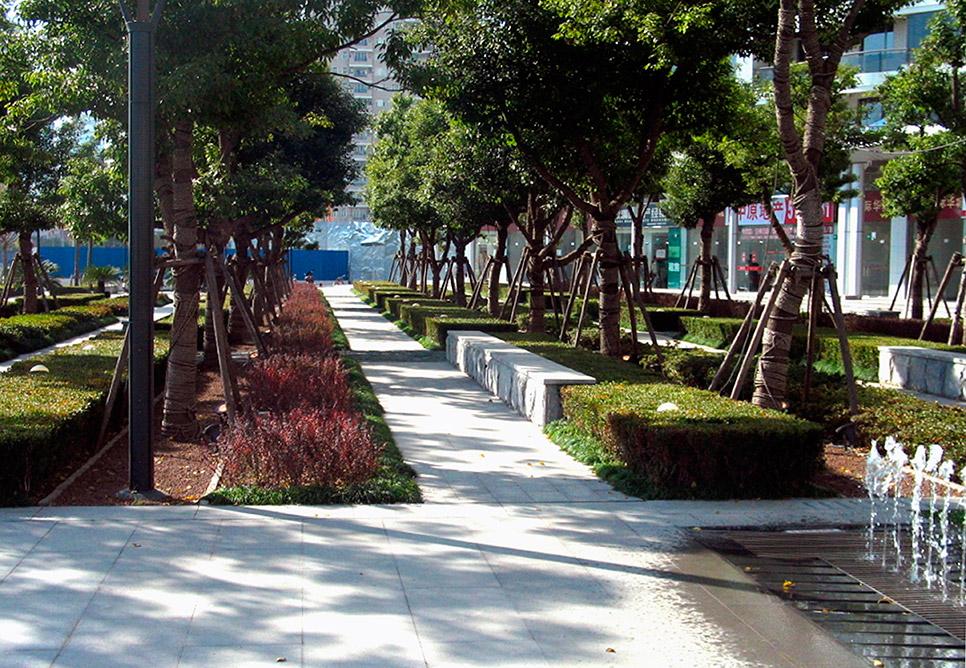 Garden City Landscaping In21st international city landscape nbbj in21st international city landscape huaneng garden city workwithnaturefo