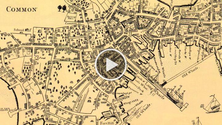 Gallery For Gt Boston Landmarks Map
