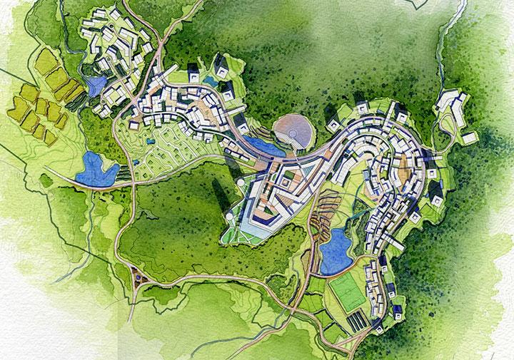 Hamyang Four Seasons Eco Resort Nbbj