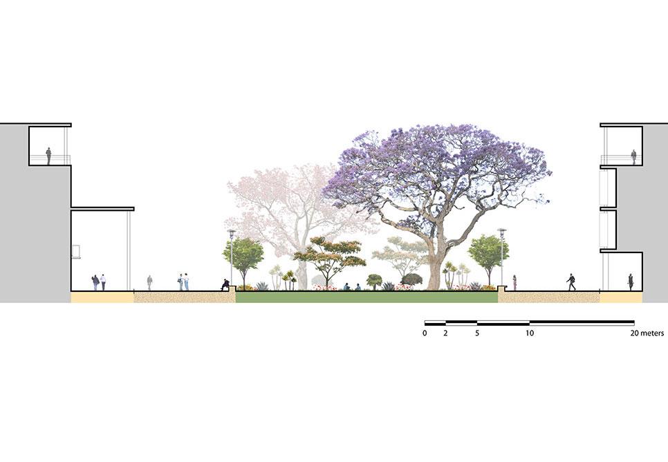 University Of Botswana Maun Campus Master Plan Nbbj