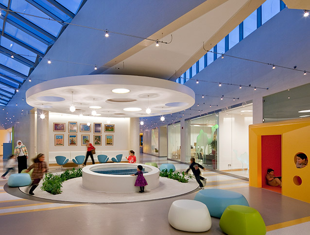 Healthcare Design Features Bayt Abdullah Children S