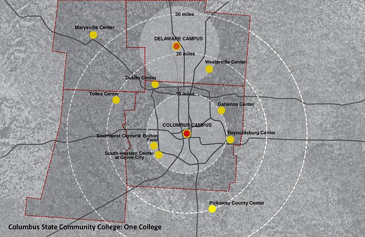 Columbus State Community College Master Plan | NBBJ