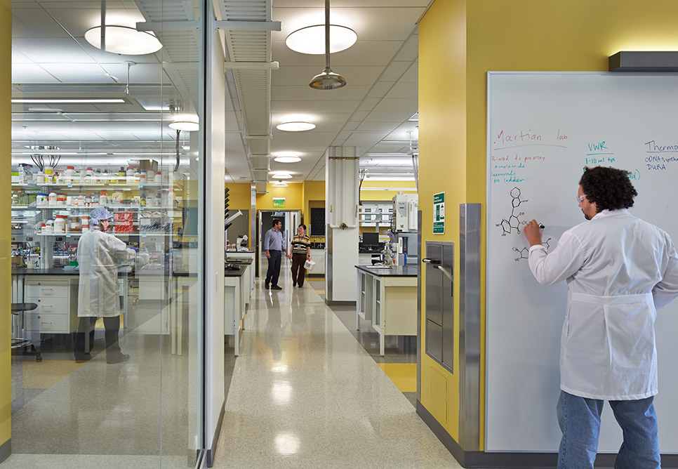 WSU Spokane Pharmaceutical Biomedical Sciences Building