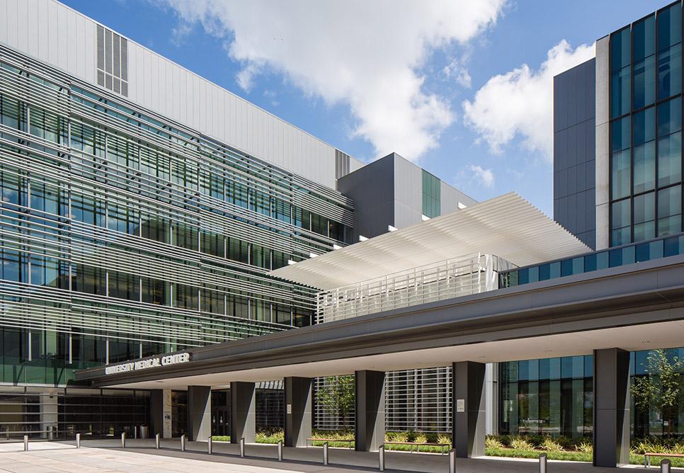 university medical center new orleans nbbj