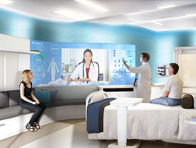 Intergenerational Patient Room Concept Featured in Beckers Hospital