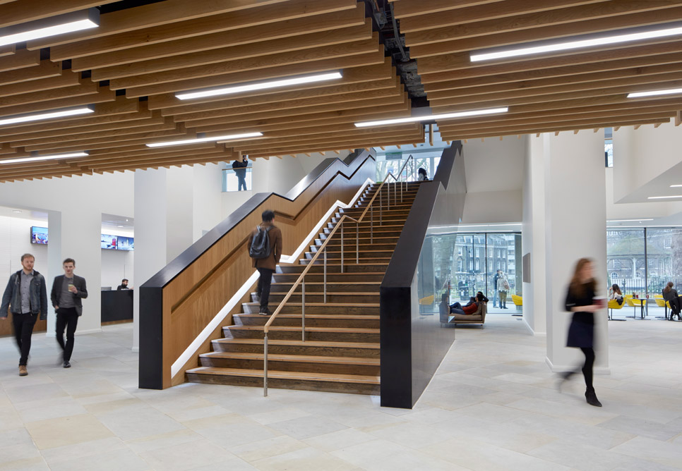 City, University Of London, Main Entrance Transformation Project